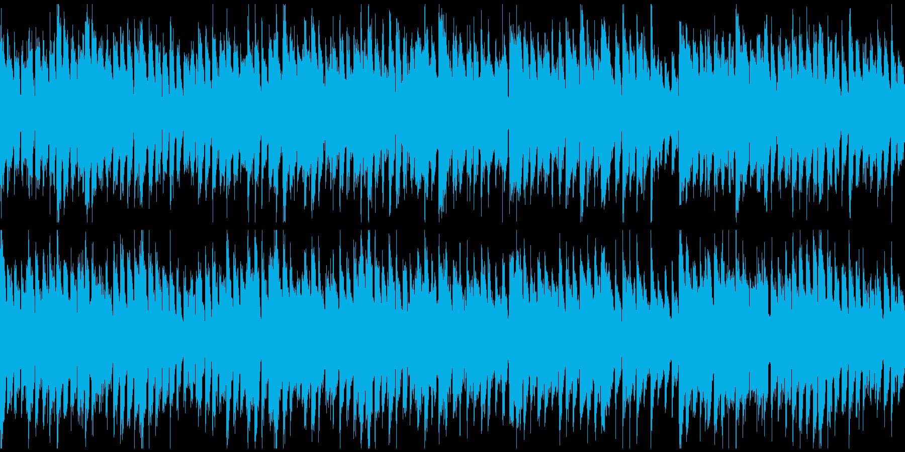 ファンタジー感のあるリコーダー※ループ版の再生済みの波形