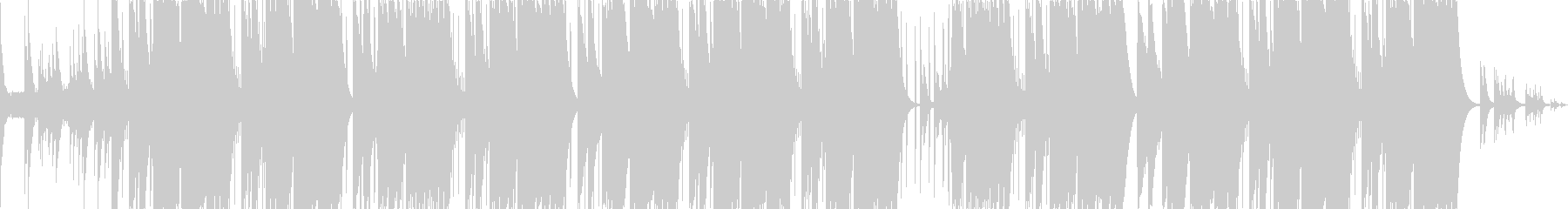 夏に合うチルトラップビートの未再生の波形