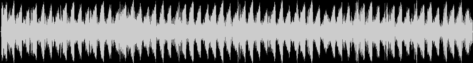 スクラッチが特徴の電子的なテクノの未再生の波形