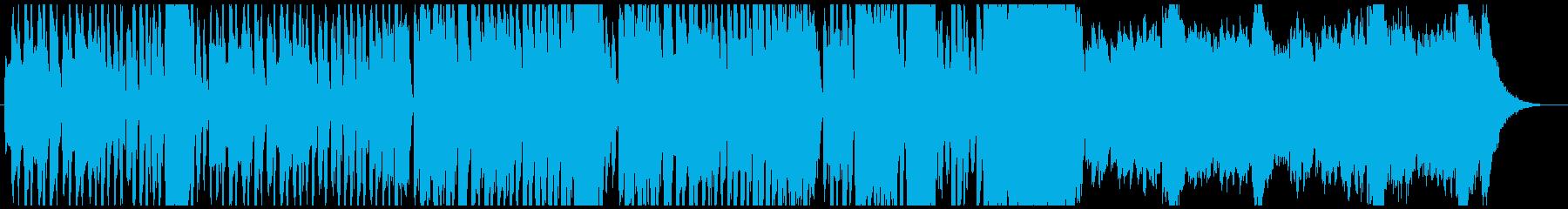 ハロウィン・かわいいホラー曲の再生済みの波形