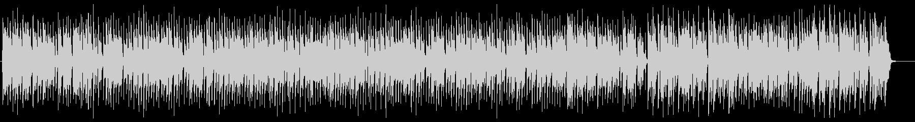 ラグタイムピアノ 曲の展開が速く軽快の未再生の波形