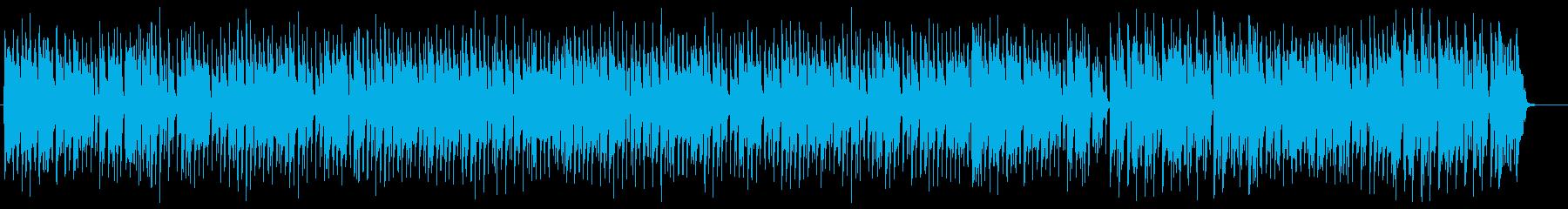 ラグタイムピアノ 曲の展開が速く軽快の再生済みの波形