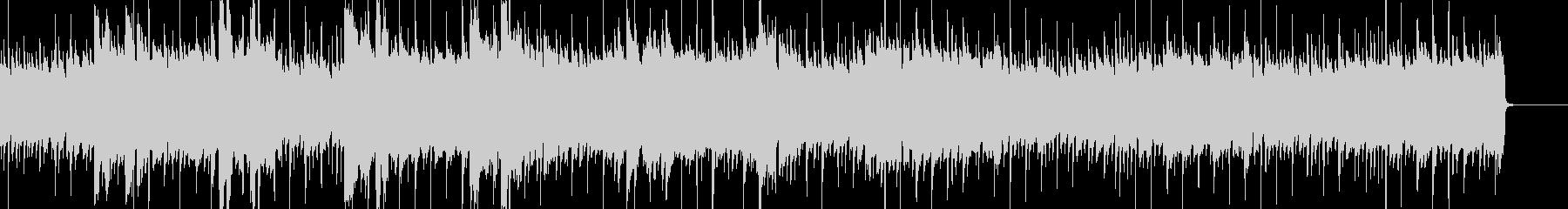 晴れ・前向き アコギ・ピアノ・ベースの未再生の波形