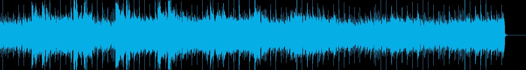 晴れ・前向き アコギ・ピアノ・ベースの再生済みの波形