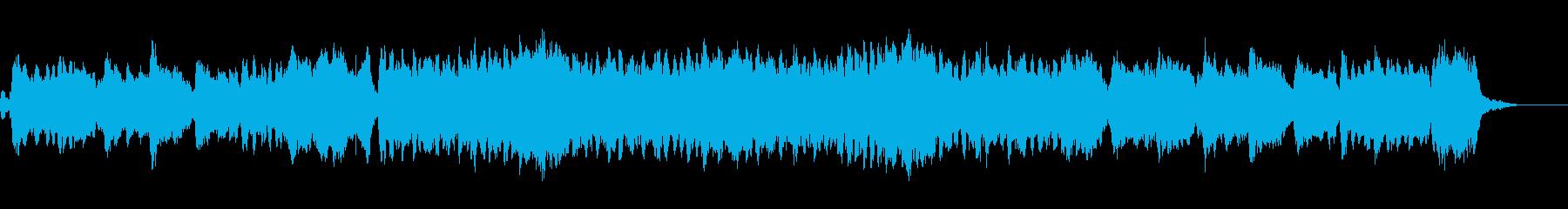 ハリウッド「短くて壮大」オーケストラbの再生済みの波形