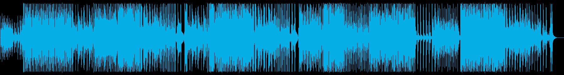 メローで緩やかなワルツ風テクノポップの再生済みの波形
