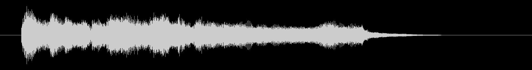 爽やかで明るいオーケストラジングル/勝利の未再生の波形