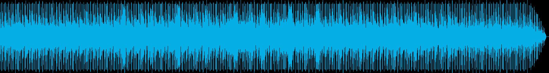 少しローファイなチップチューンテクノの再生済みの波形
