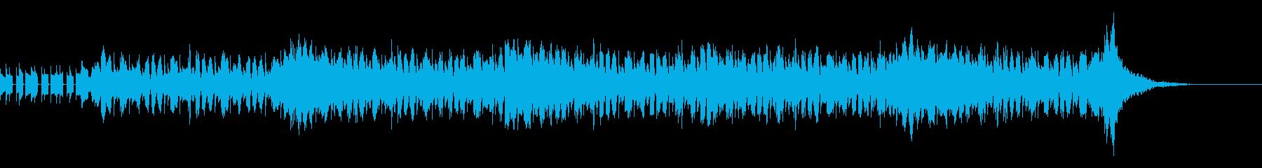 短めのdigital musicですの再生済みの波形