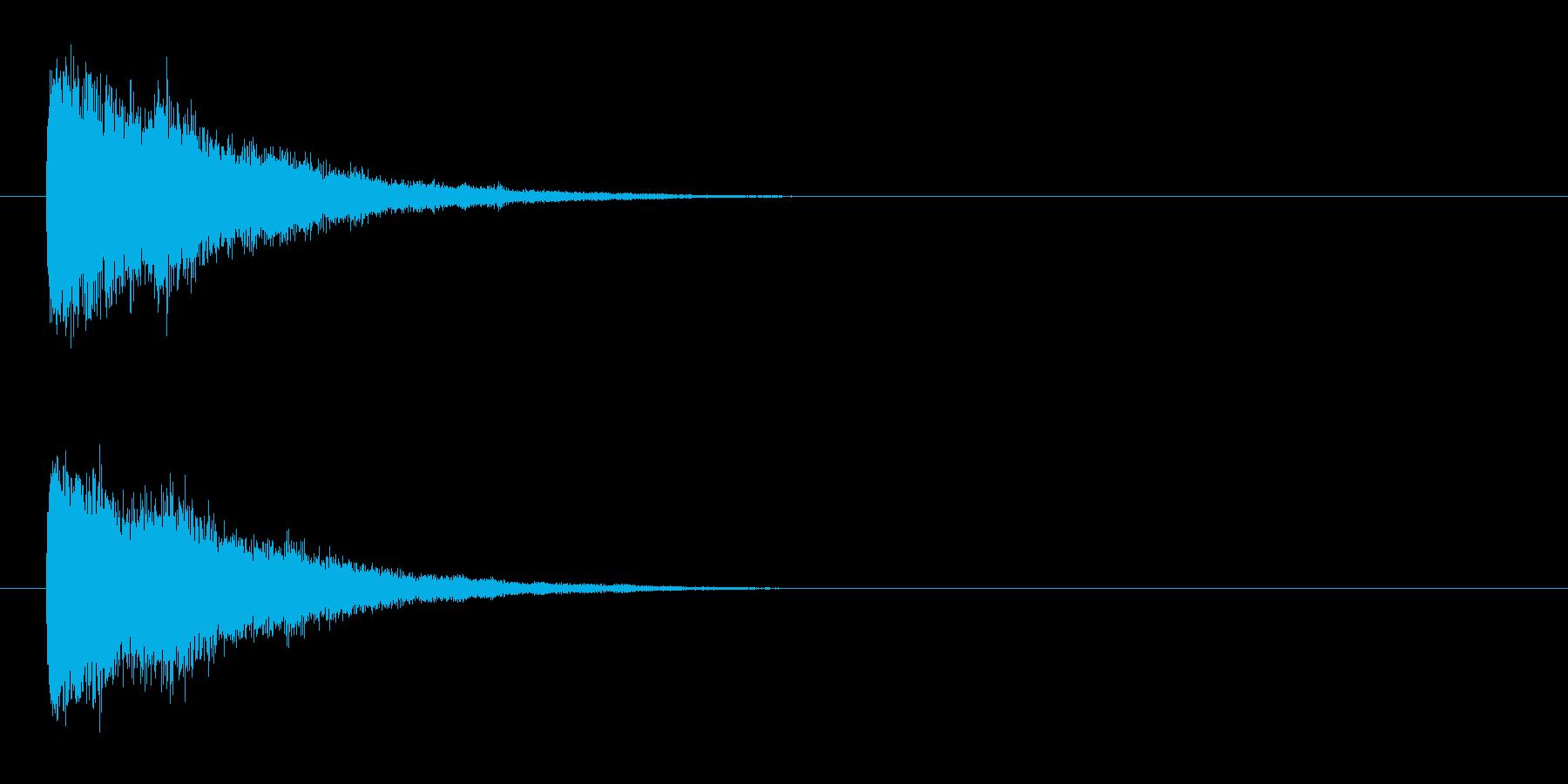 キラーン②(輝く・瞬き・星・魔法・発光)の再生済みの波形