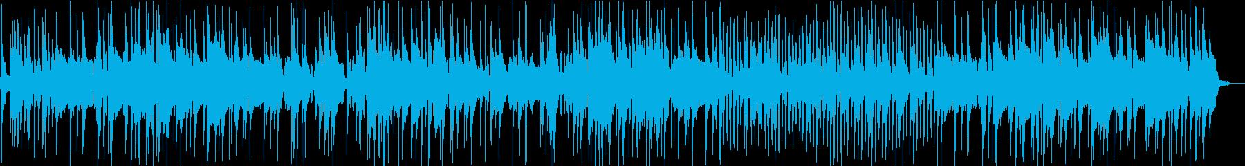 仕事の後に聞きたいまったりジャズの再生済みの波形