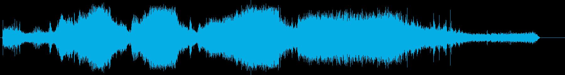 トラック;スタート/アウェイ;トラ...の再生済みの波形