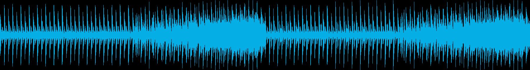 ドラムメインの極限シンプルの再生済みの波形