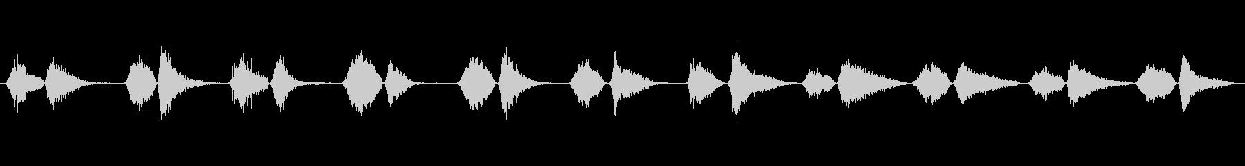 モンスター いびき03の未再生の波形