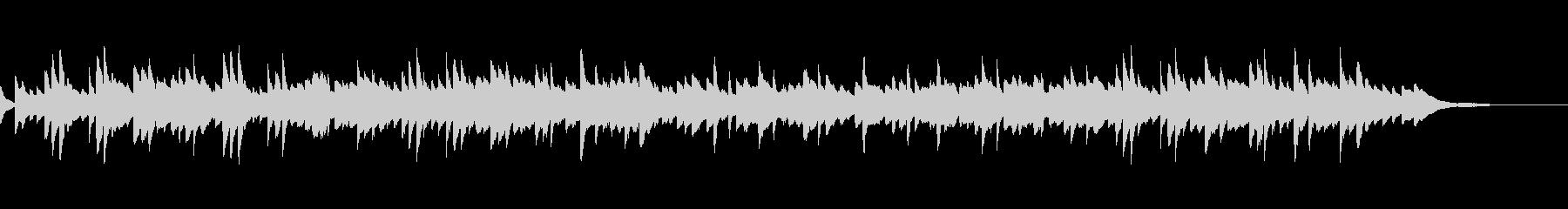 童謡「浜辺の歌」シンプルなピアノソロの未再生の波形