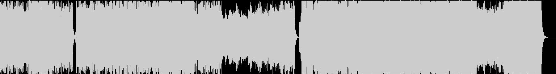 16bit48kHzバージョンの未再生の波形