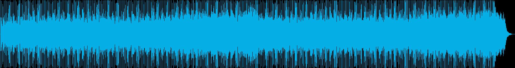 エキゾチックな音のモンドミュージックの再生済みの波形