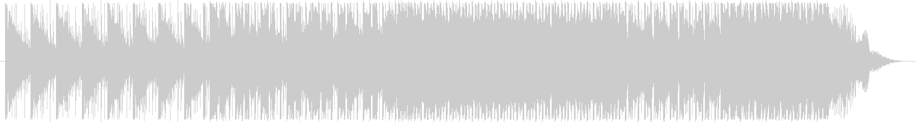 ピコピコ・シンプルシンセコードBGMの未再生の波形