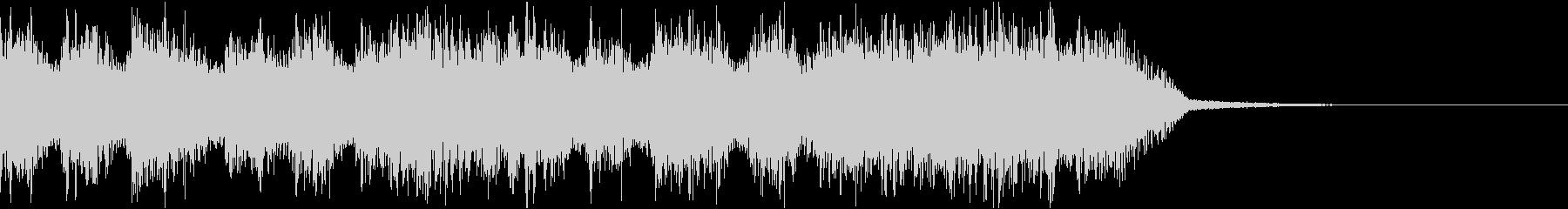 エネルギッシュ・ロックなサウンドロゴ07の未再生の波形