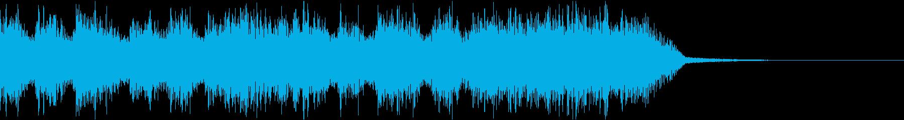 エネルギッシュ・ロックなサウンドロゴ07の再生済みの波形