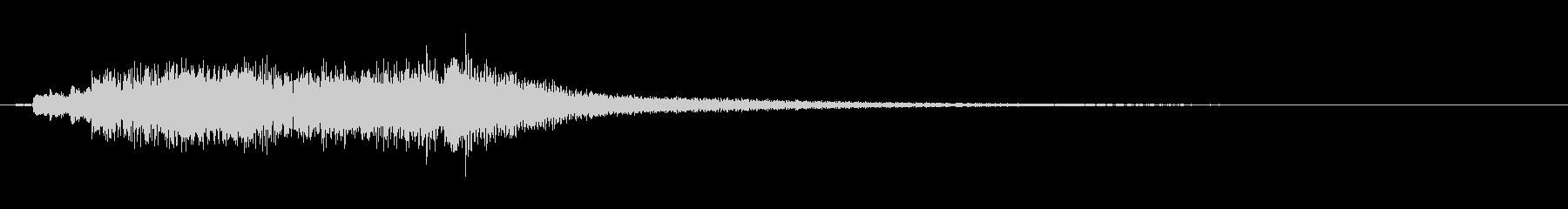 優雅な和風サウンド琴のマルチフレーズFXの未再生の波形