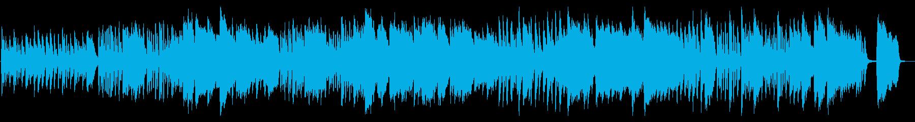 ほのぼのしたフルートと木琴の日常曲の再生済みの波形