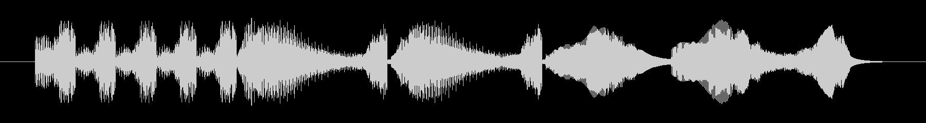Electrozapperスワイプ3の未再生の波形