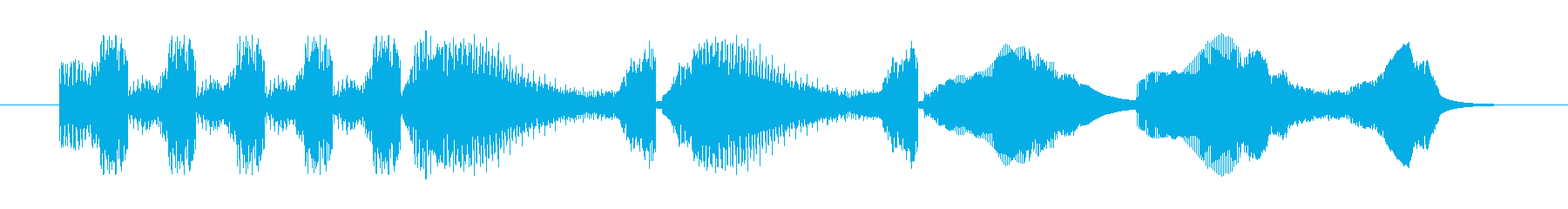 Electrozapperスワイプ3の再生済みの波形