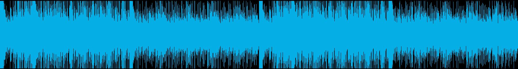 アニメAKIRAの劇中BGM風トラックの再生済みの波形
