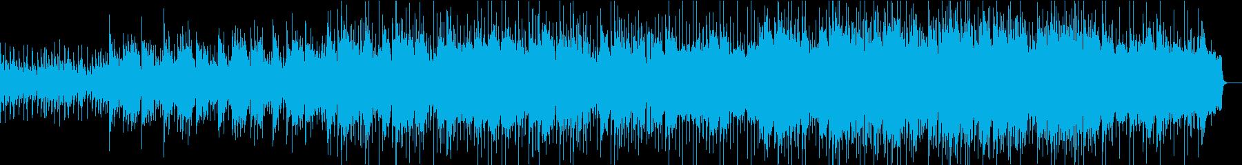 哀愁漂うアコースティックロックバラードの再生済みの波形