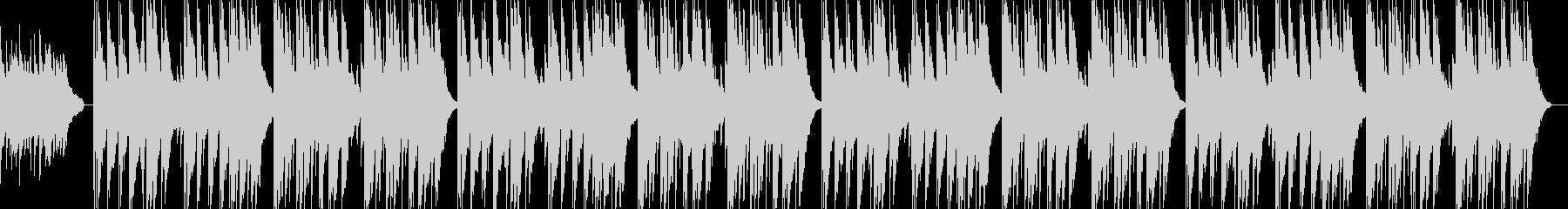 アコギのさびしくゆったりしたBGMの未再生の波形
