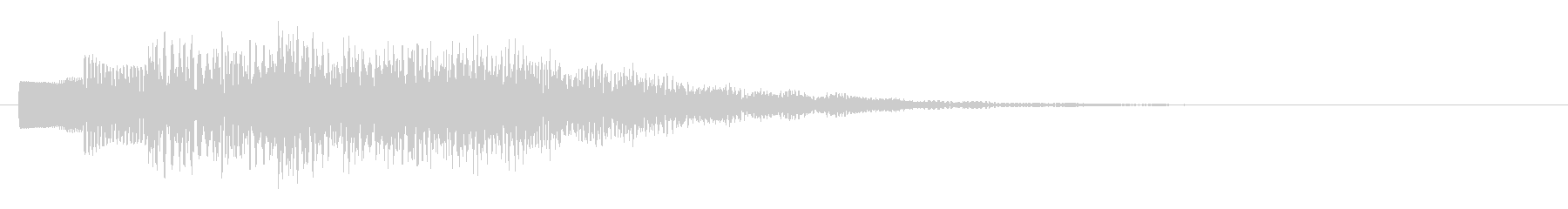 KANTベルサウンドジングル73の未再生の波形