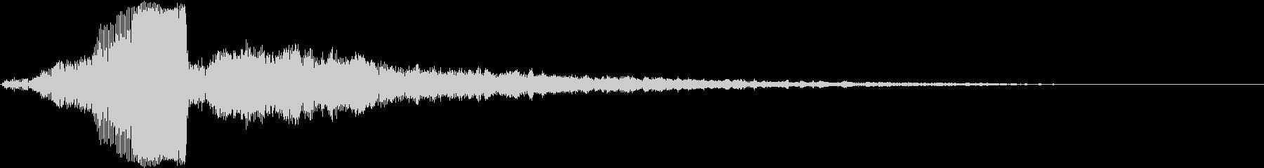 【ダーク】アナログシンセから出る電子音の未再生の波形