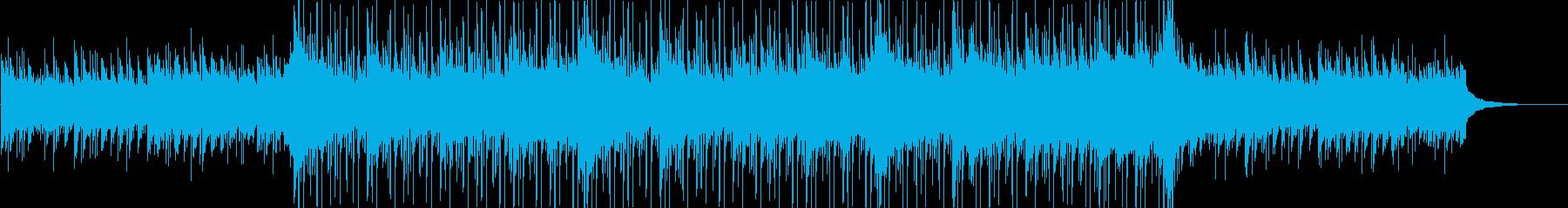 ピアノ、雰囲気のあるパッド、ストリ...の再生済みの波形