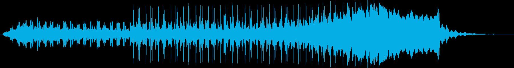 ユニークで催眠的な楽器。スペーシー...の再生済みの波形