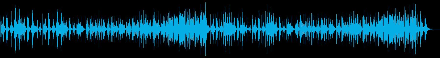 【CM、動画】可愛らしいマリンバの再生済みの波形