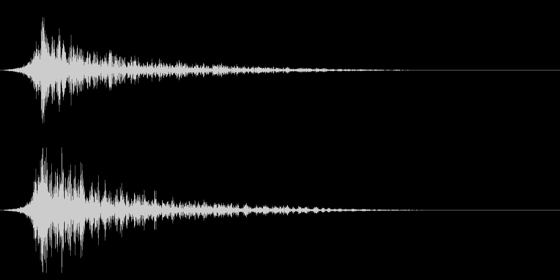シュードーン-29-2(インパクト音)の未再生の波形