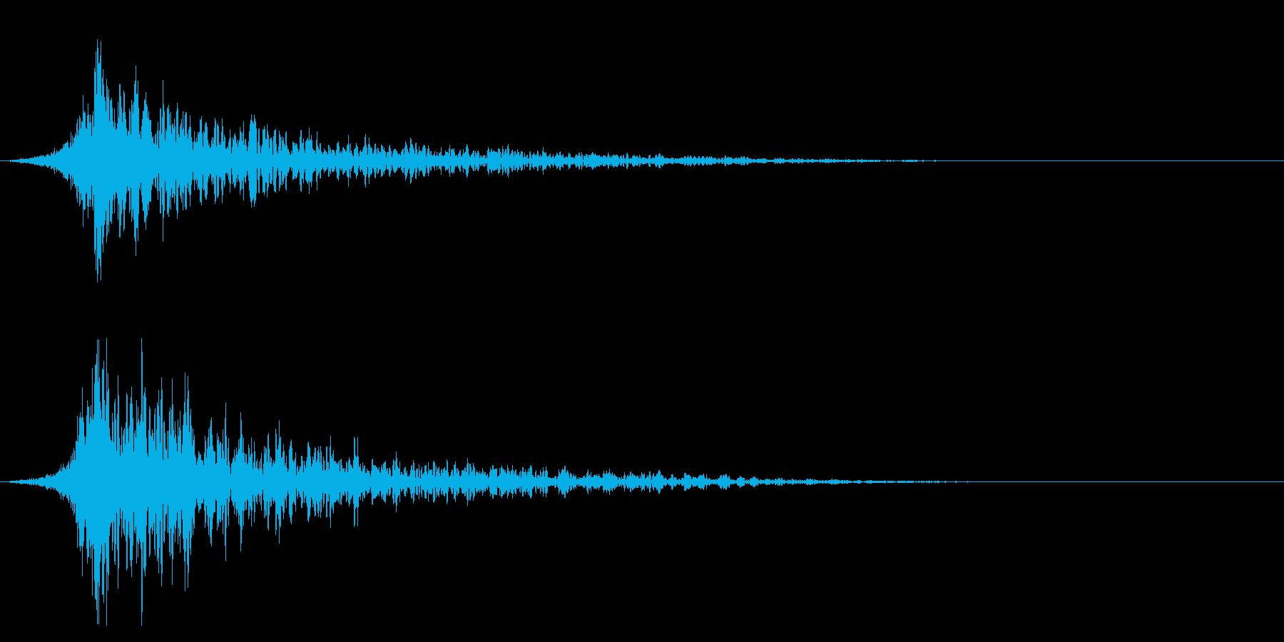 シュードーン-29-2(インパクト音)の再生済みの波形