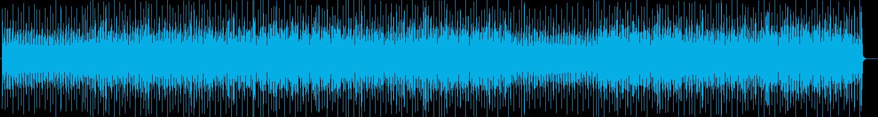 ゲームに合うコンピューターミュージックの再生済みの波形