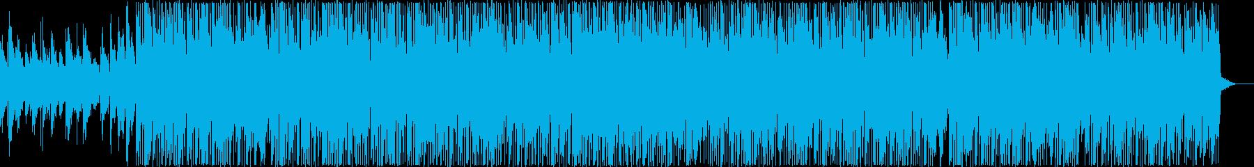 シンセリードが心地よいHipHopの再生済みの波形