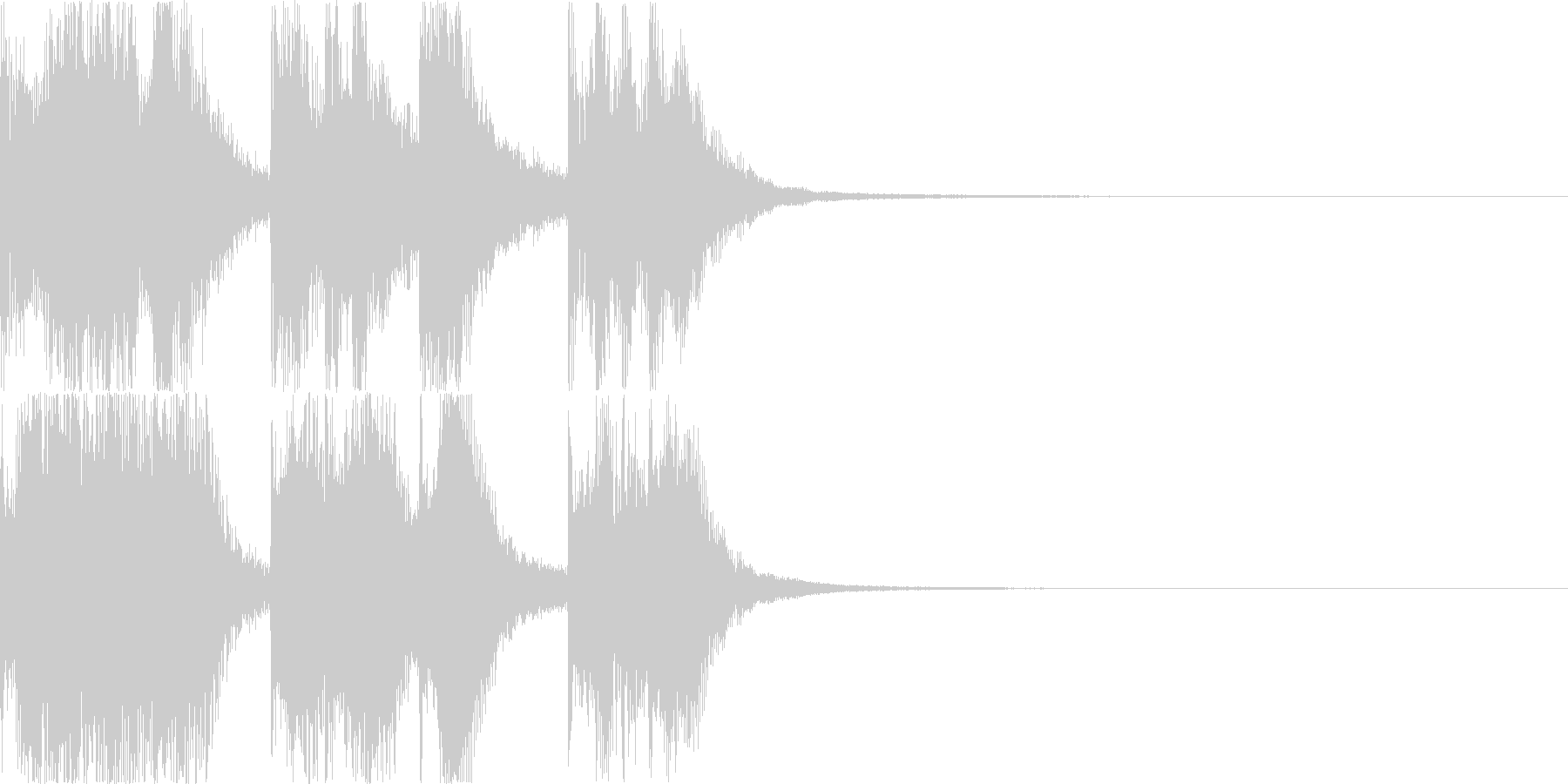 【ドッキリ系】効果音2_ネタバラシの未再生の波形