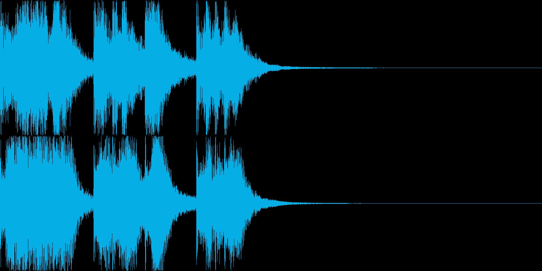 【ドッキリ系】効果音2_ネタバラシの再生済みの波形