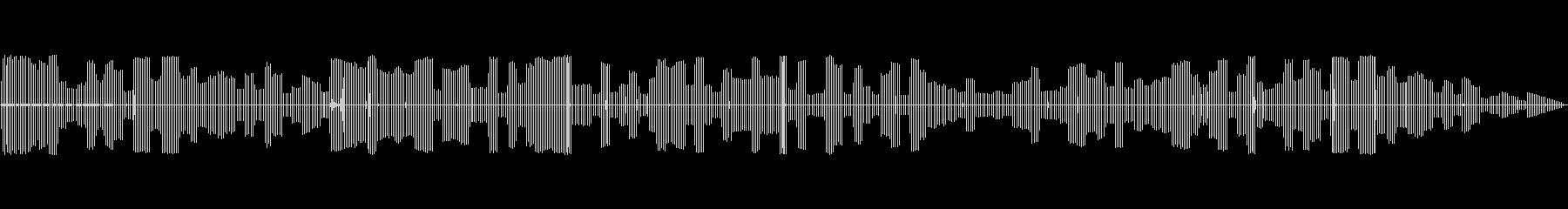 電気バズブザーの未再生の波形