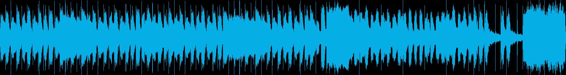 コミカル かわいい ループ2の再生済みの波形