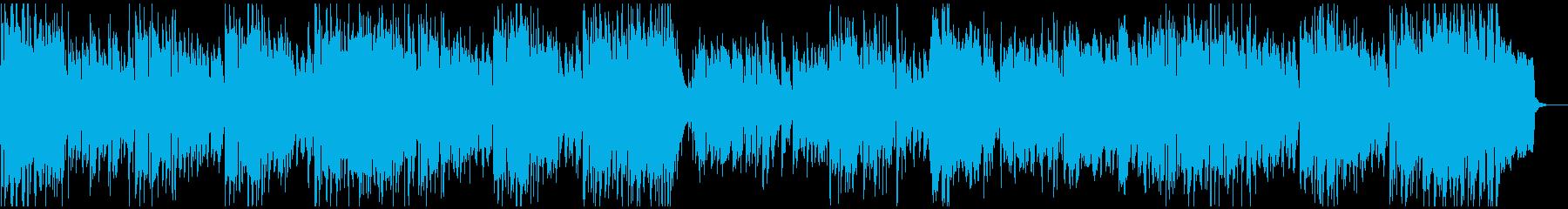 アグレッシブ管楽器ジャズ、情熱的なリズムの再生済みの波形