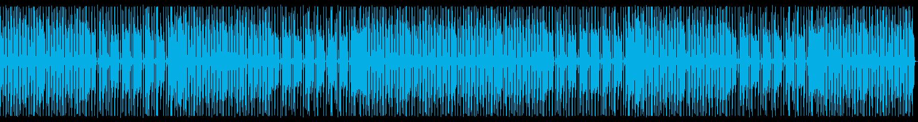 RPGのひょうきんな村のBGMっぽい曲の再生済みの波形