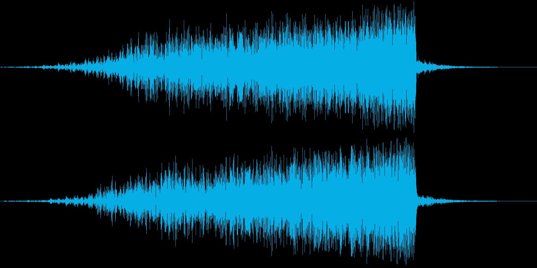 【映画演出】迫る危機感_ライザー_05の再生済みの波形