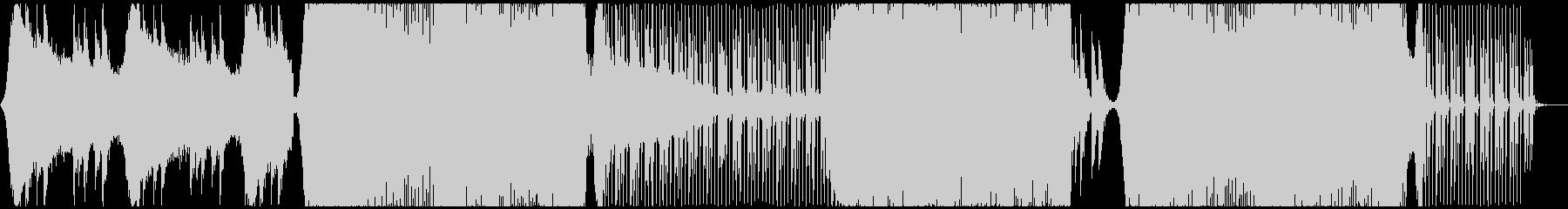 大自然に想いを馳せるクールなトランス曲の未再生の波形