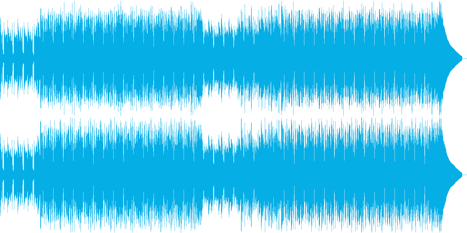 クールな雰囲気のFuture Bassの再生済みの波形
