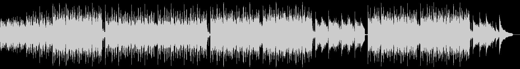 明るいピアノバイオリンポップ:メロディ抜の未再生の波形